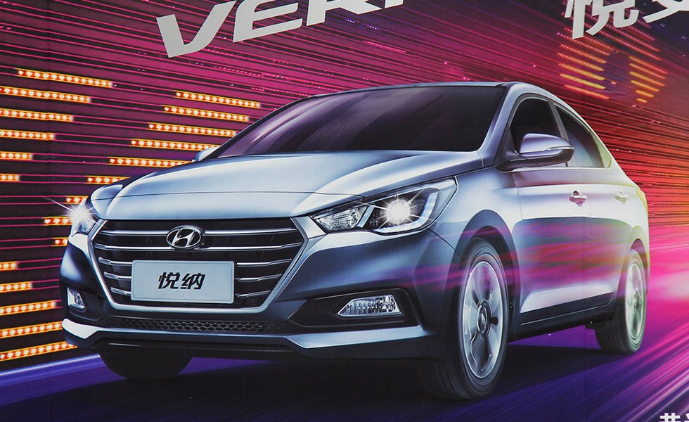 Hyundai Solaris (Verna) 2017