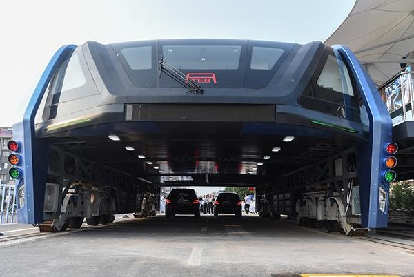 Портальный автобус TEB-1
