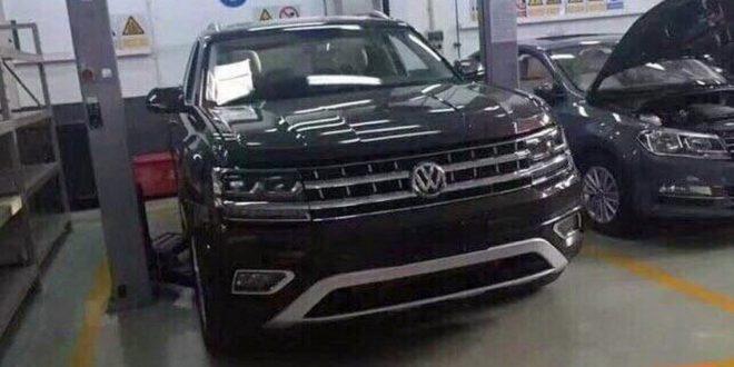 Volkswagen Teramont показался без камуфляжа
