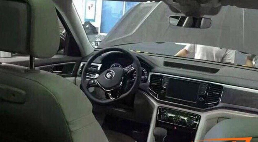 Volkswagen Teramont фото интерьера