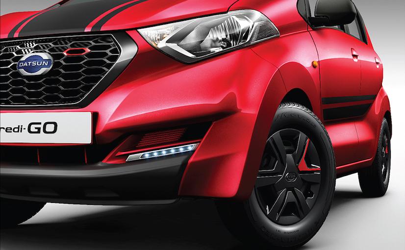 Datsun redi-GO Sport тизер