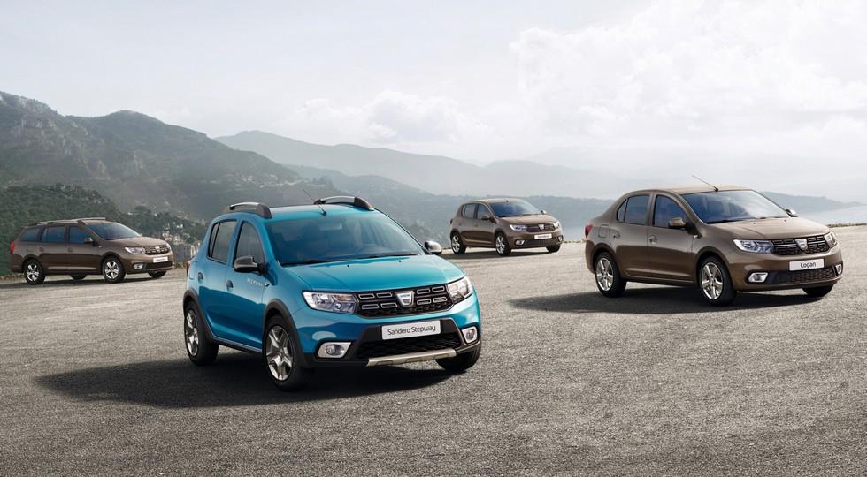Dacia (Renault) Logan + Sandero 2017