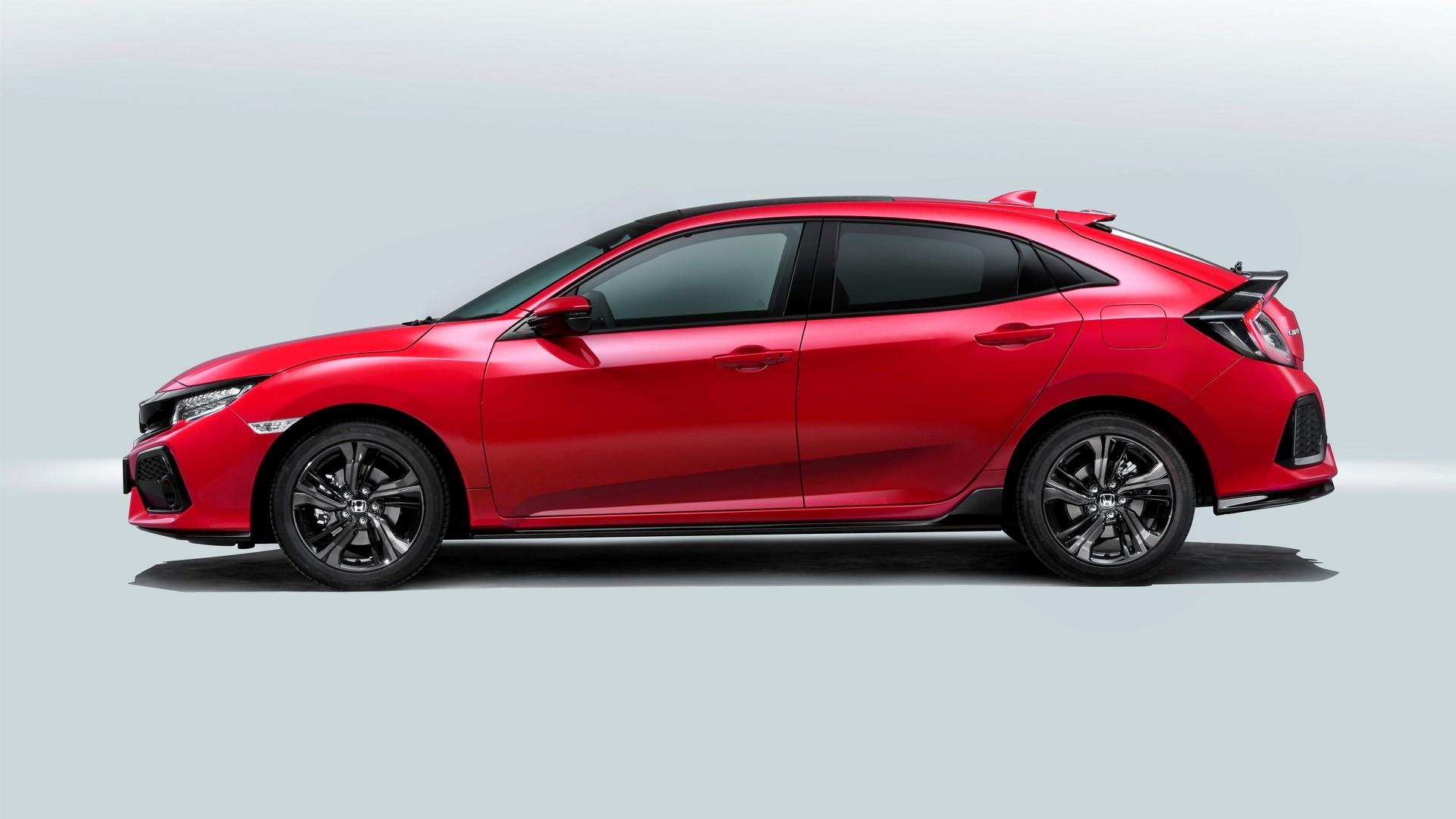 Honda Civic 2017 5-дверный хэтчбек европейская версия