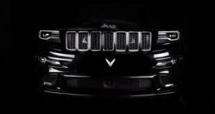 Jeep Grand Cherokee SRT8 с тюнингованным салоном от VilnerJeep Grand Cherokee SRT8 с тюнингованным салоном от Vilner