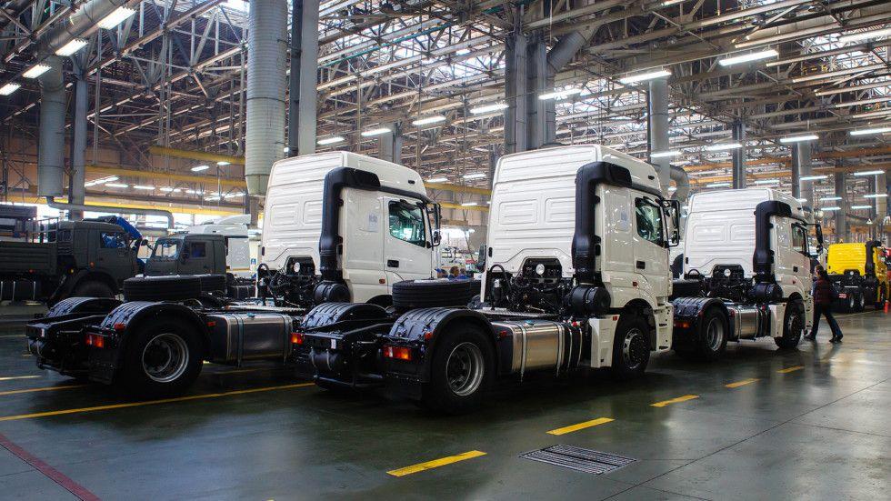 Вконце 2016-ого года появятся обновленные модели КАМАЗ