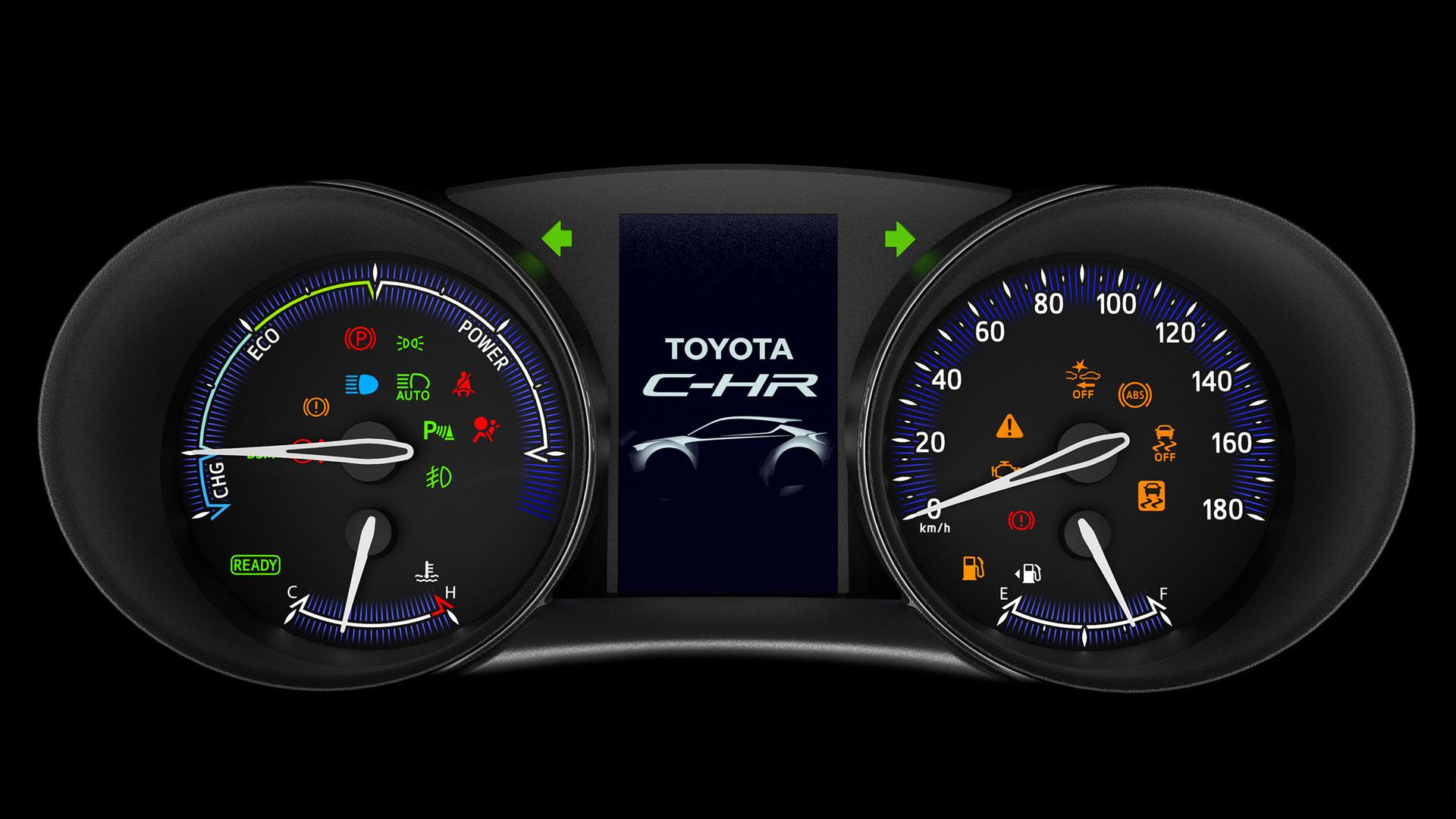 Toyota C-HR японская версия