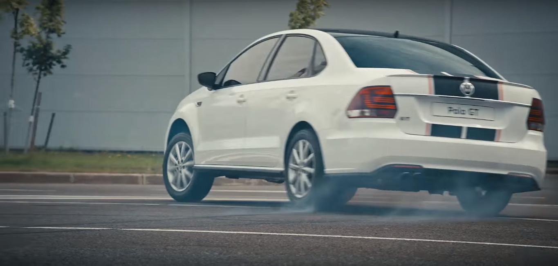 Volkswagen Polo GT рекламное видео