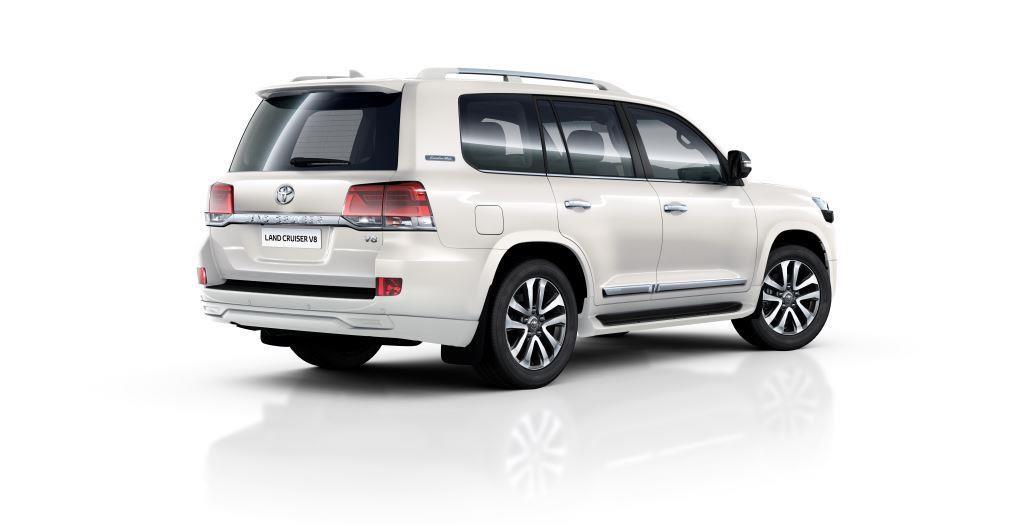 Toyota Land Cruiser 200 Executive White