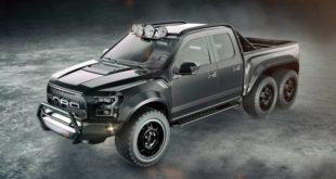 Hennessey Performance VelociRaptor 6x6 на базе Ford F-150 Raptor