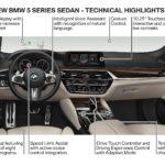 BMW 5 Series 2017 интерьер