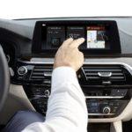 BMW 5 Series 2017 мультимедийная система