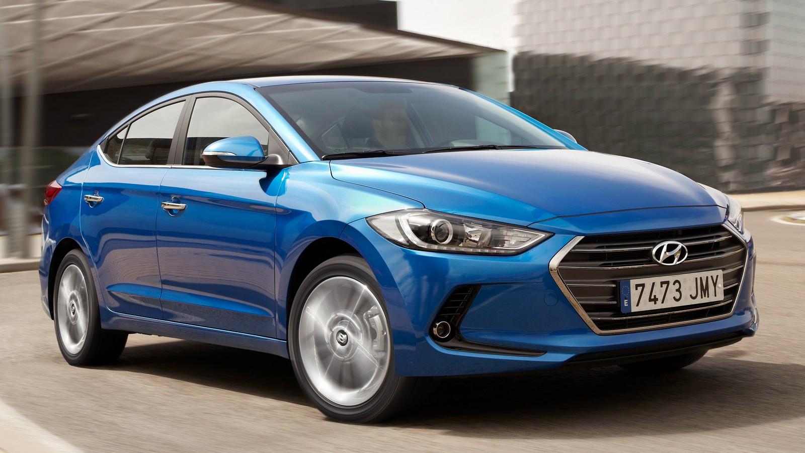 Стандартная версия Hyundai Elantra