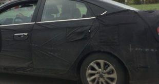 Hyundai Solaris 2017 шпионские фото