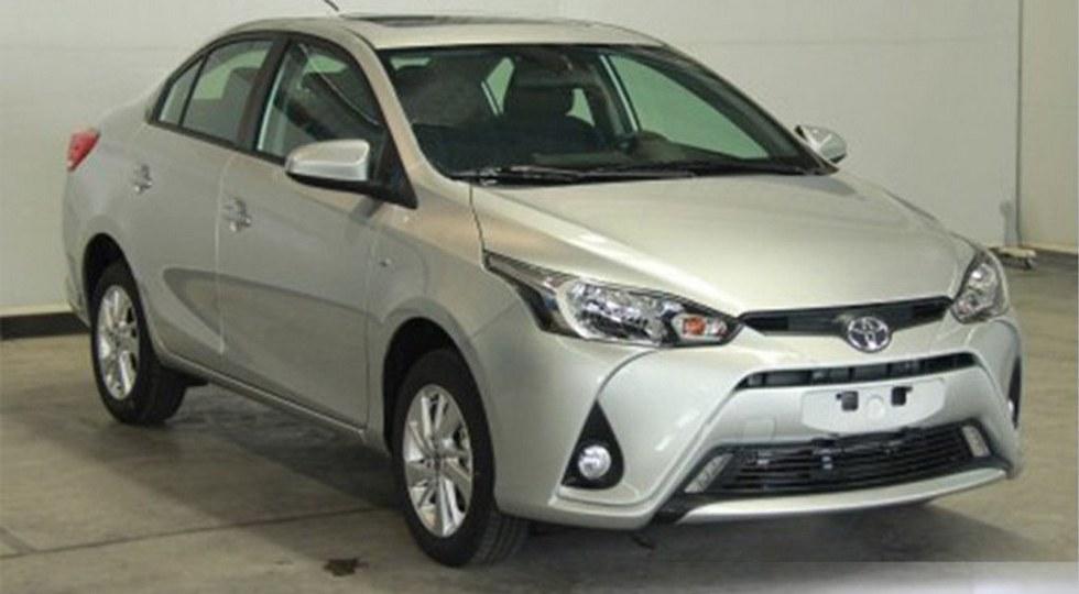 Toyota Yaris L седан