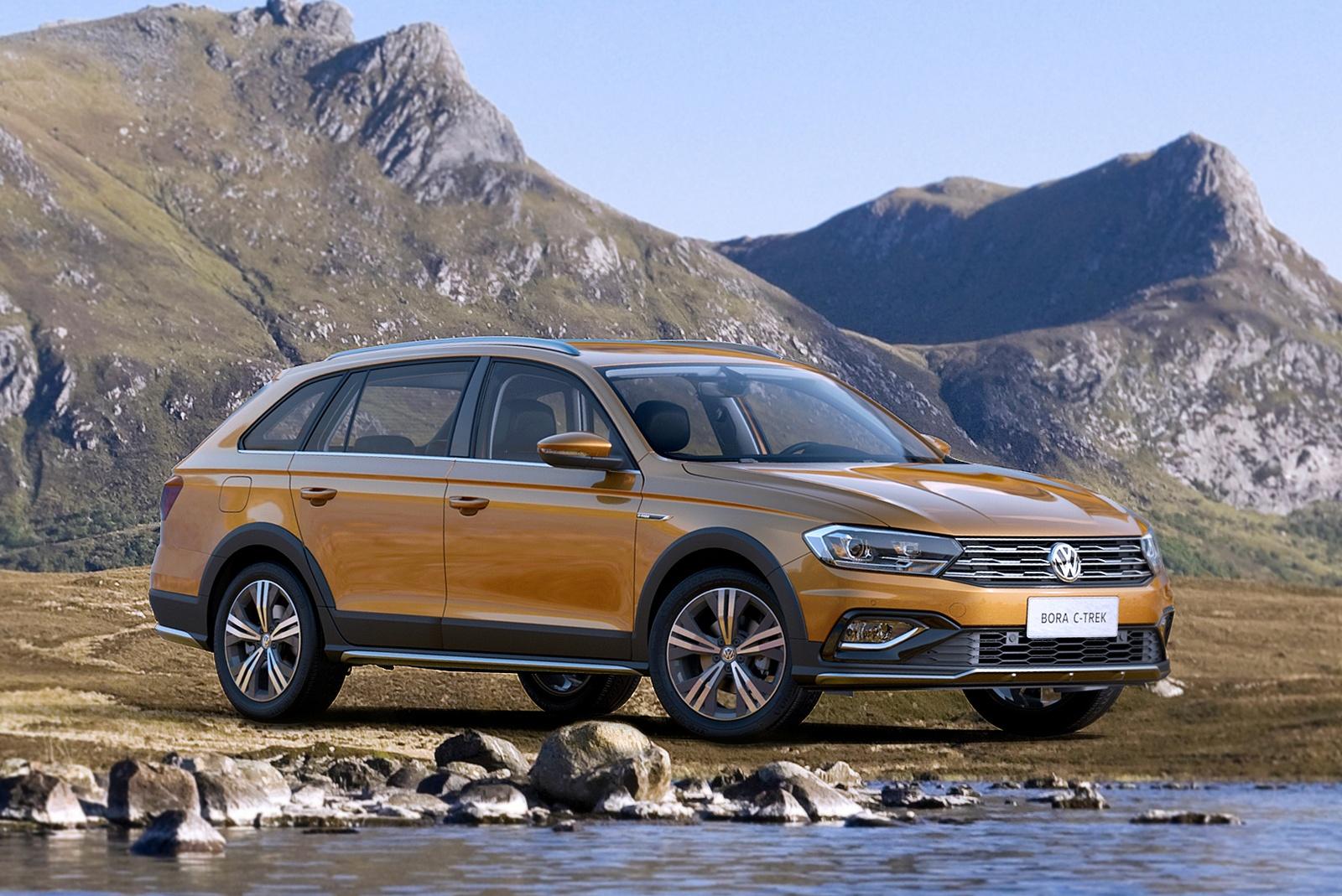 VW представил новый кросс-универсал
