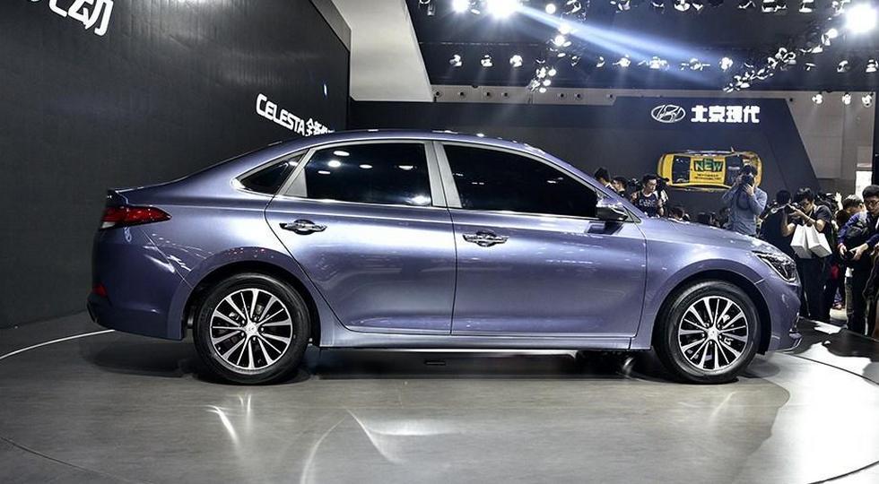 Компания Хёндай представила седан Celesta