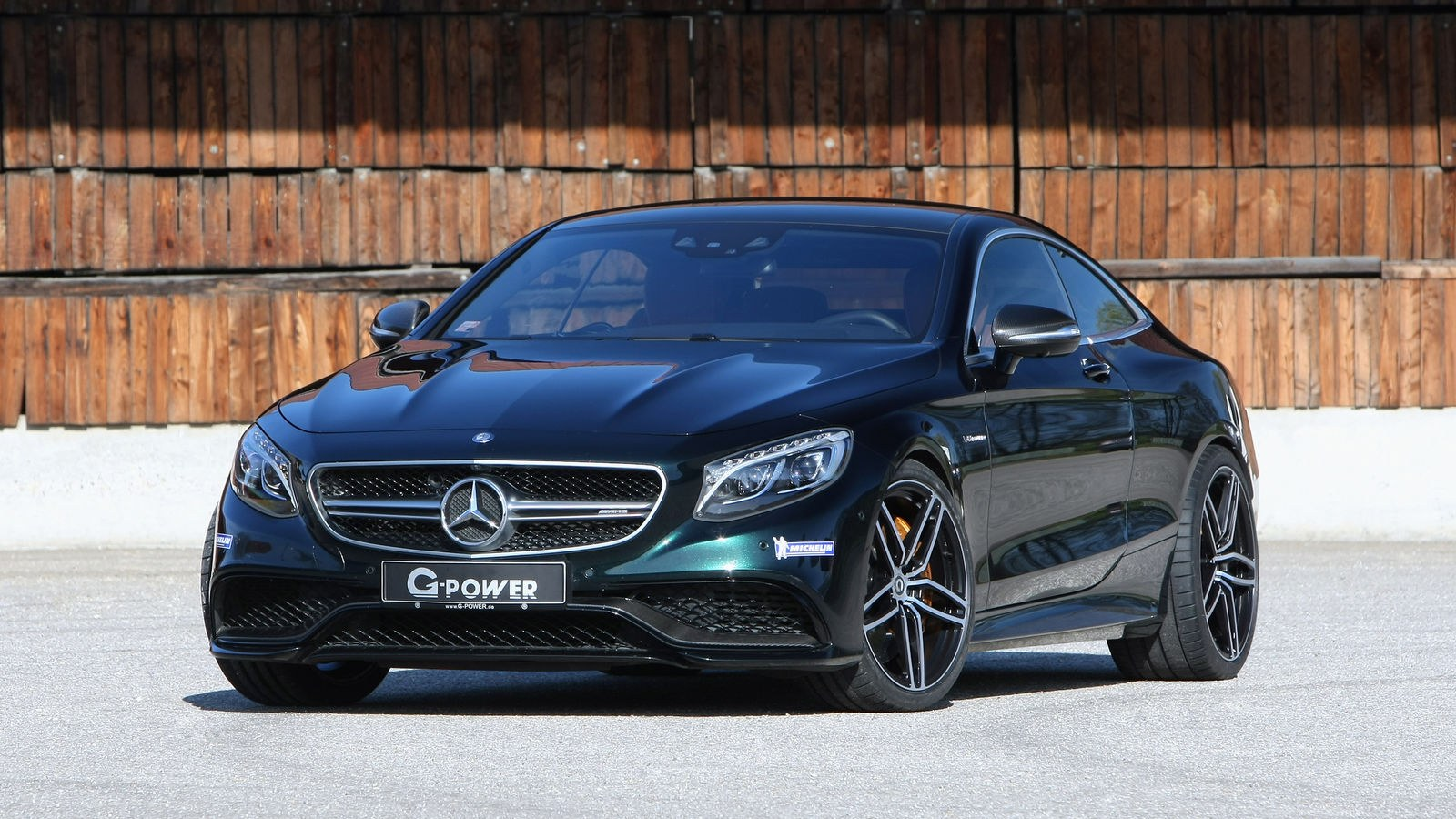 Тюнинг Mercedes-Benz S63 AMG Coupe от G-Power