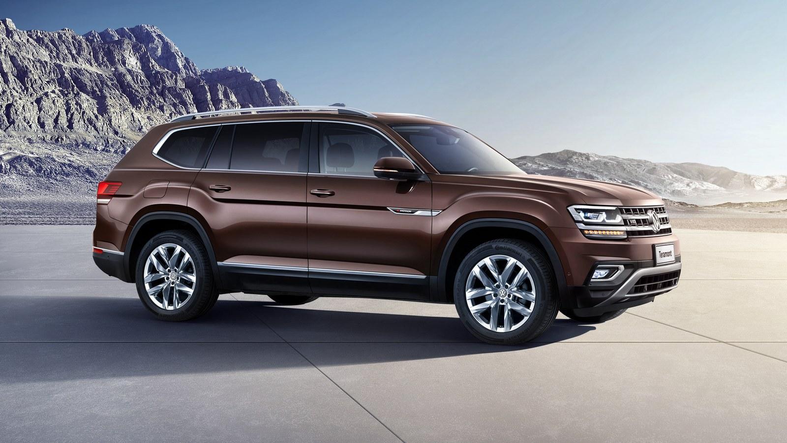 VW представил большой джип для РФ