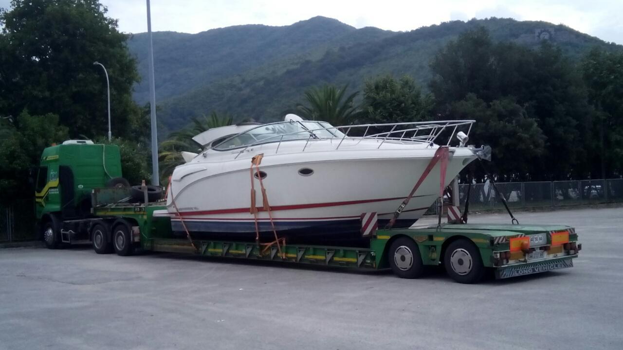 Транспортировка катера