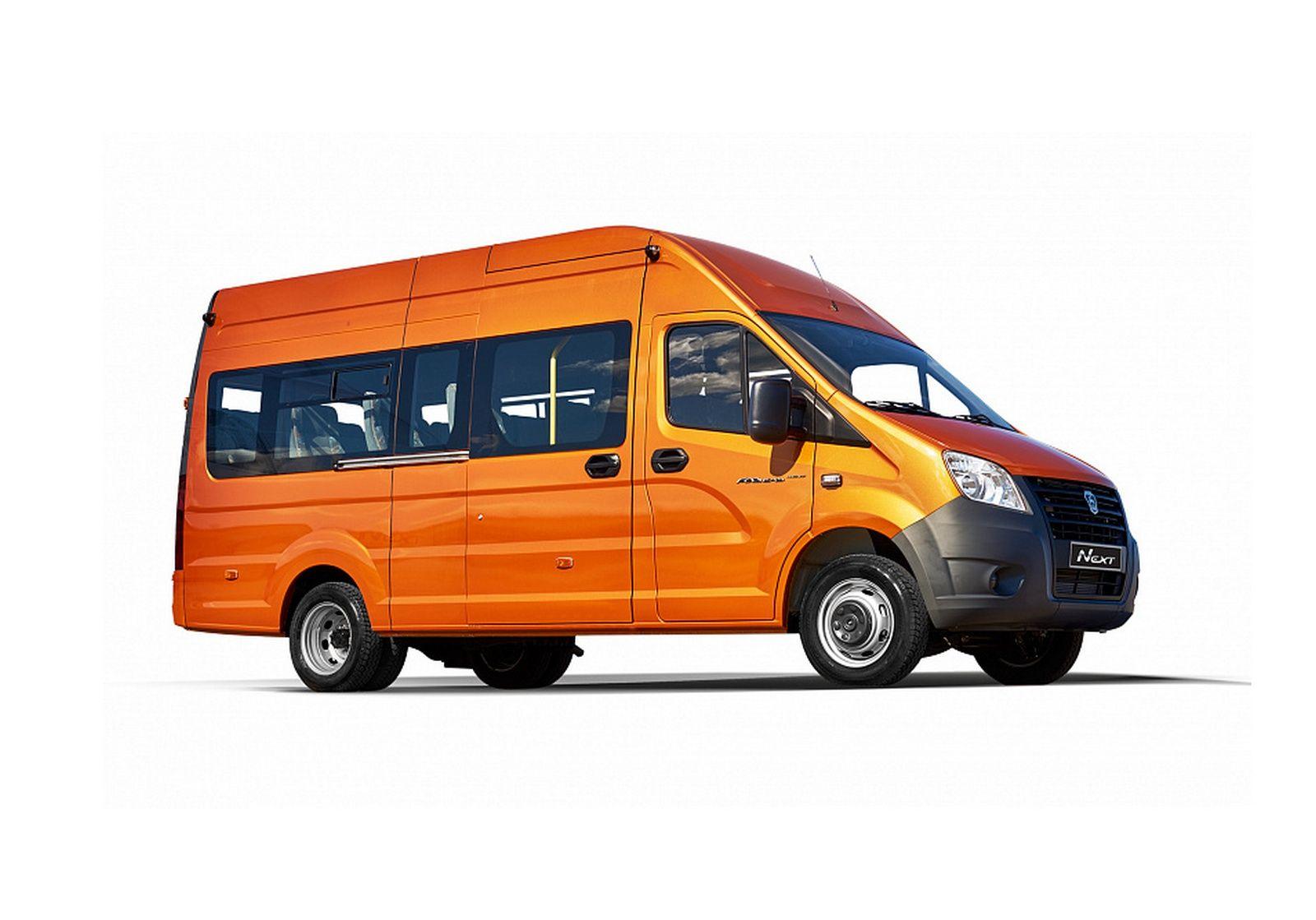 ГАЗель Next новое поколение микроавтобуса