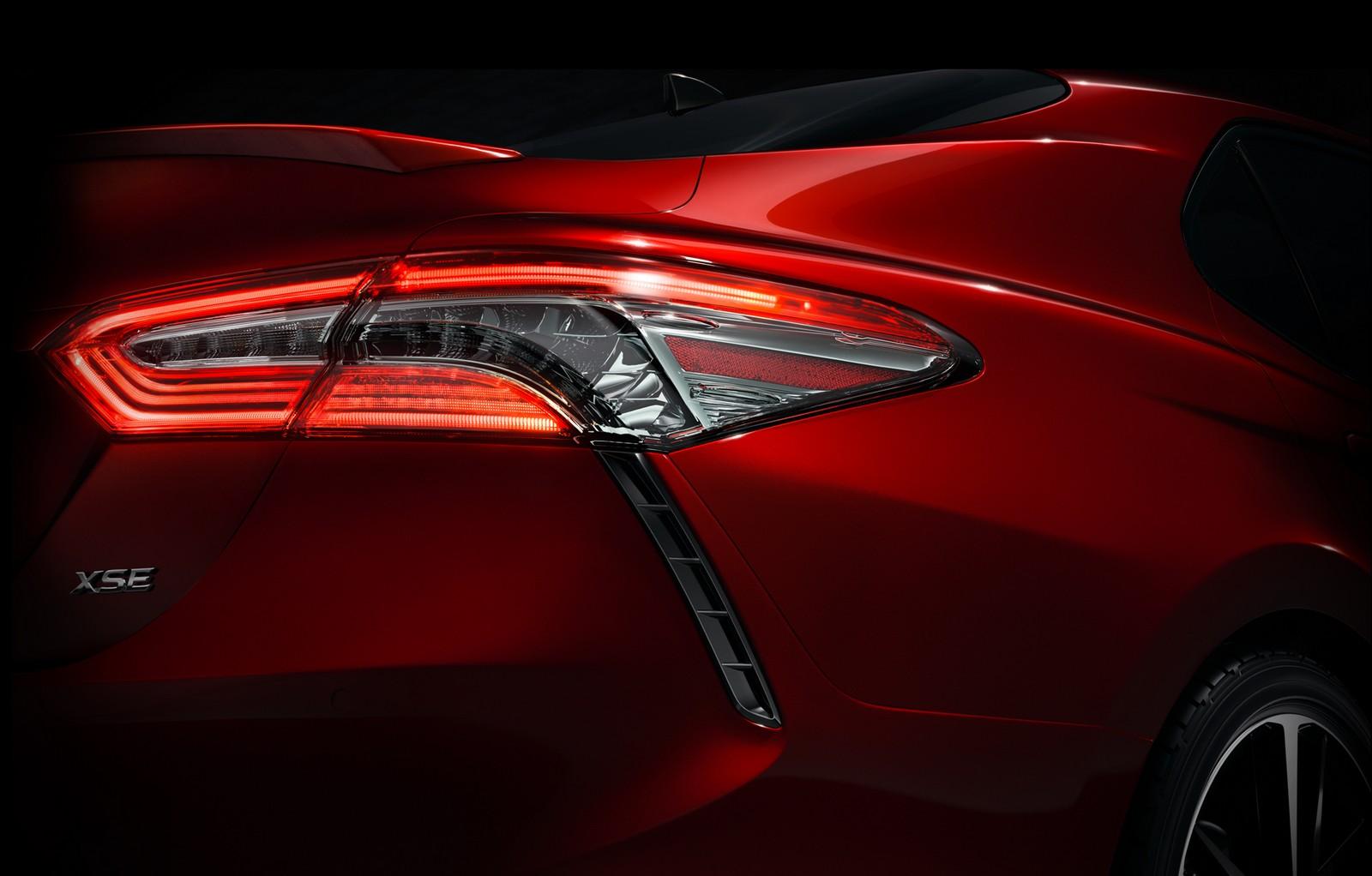 ВСМИ возникла первая информация о новейшей Тойота Camry