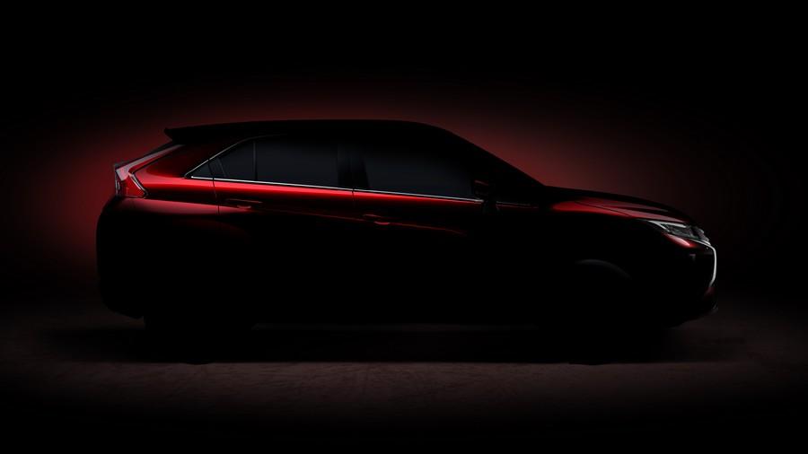 Тизер нового кроссовера Mitsubishi (дебют в Женеве - 2017)