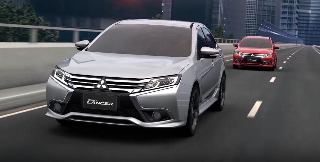 Новый Mitsubishi Lancer «засветился» ввидео
