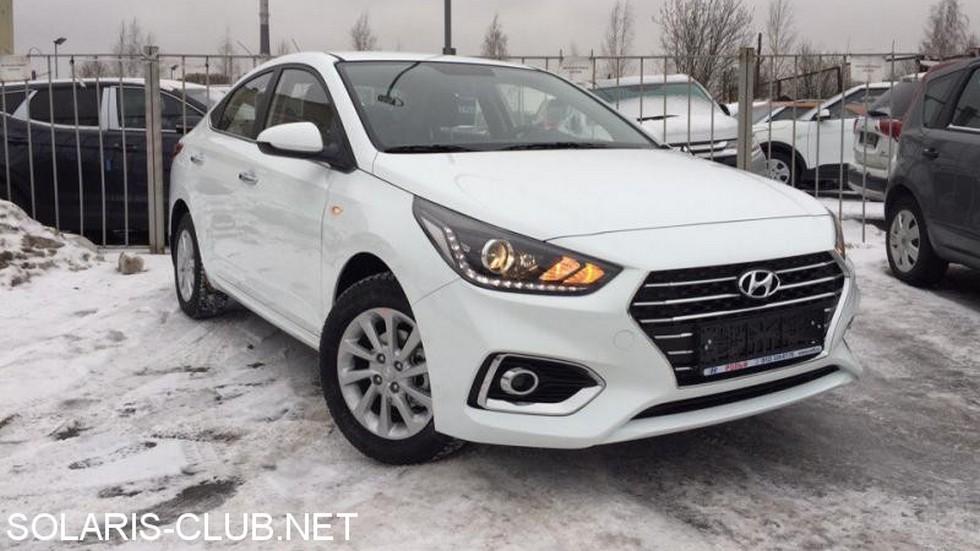 Hyundai Solaris 2017 новое поколение