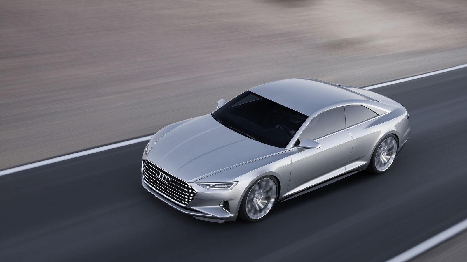 Как ожидается, новый A8 выполнен по мотивам концепта Audi Prologue, который дебютировал в 2014 году.