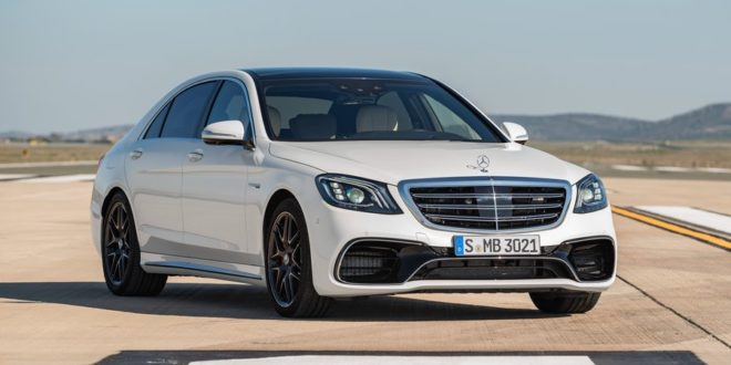 Mercedes-Benz обновил флагманский седан