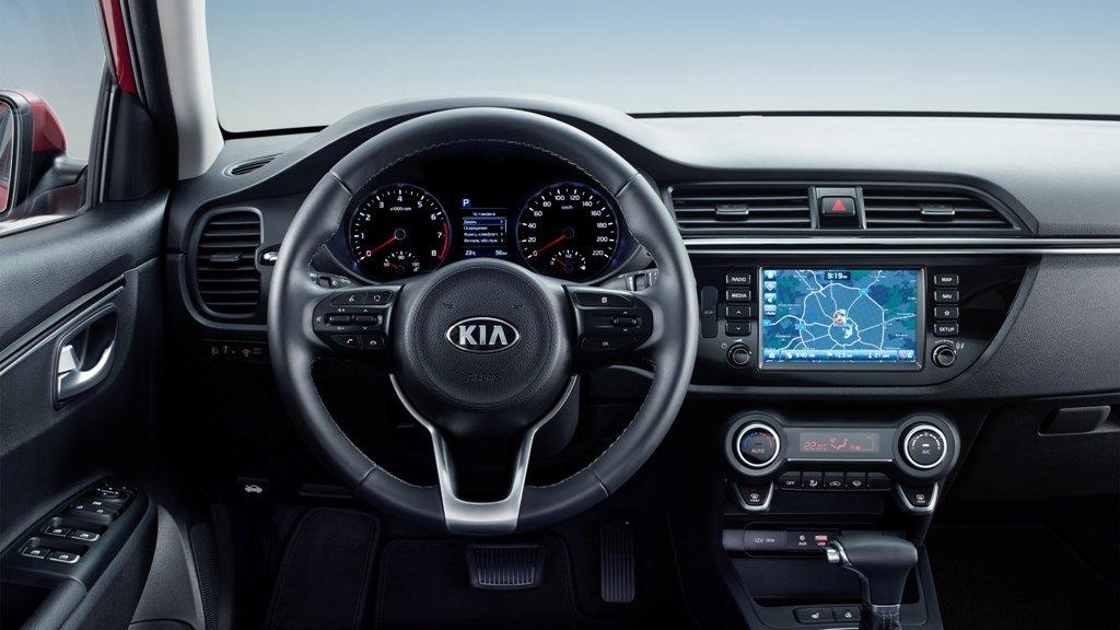 New KIA Rio_INT_central console