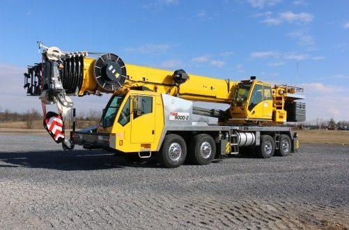 Автокран Grove: 100-тонный гигант вездеход