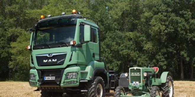 MAN представит уникальный тягач-трактор TGS 4×4