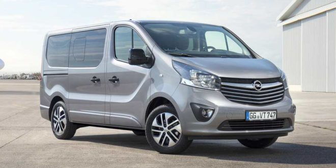 Opel представил новый бизнес-фургон