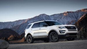2017 Ford Explorer XLT Sport Appearance Package