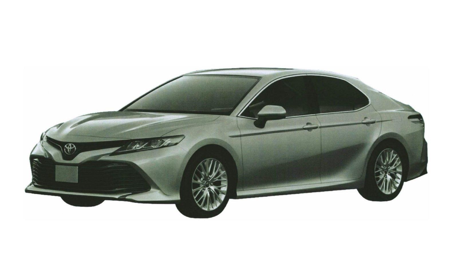 Раскрыт дизайн новейшей Тойота Camry для РФ