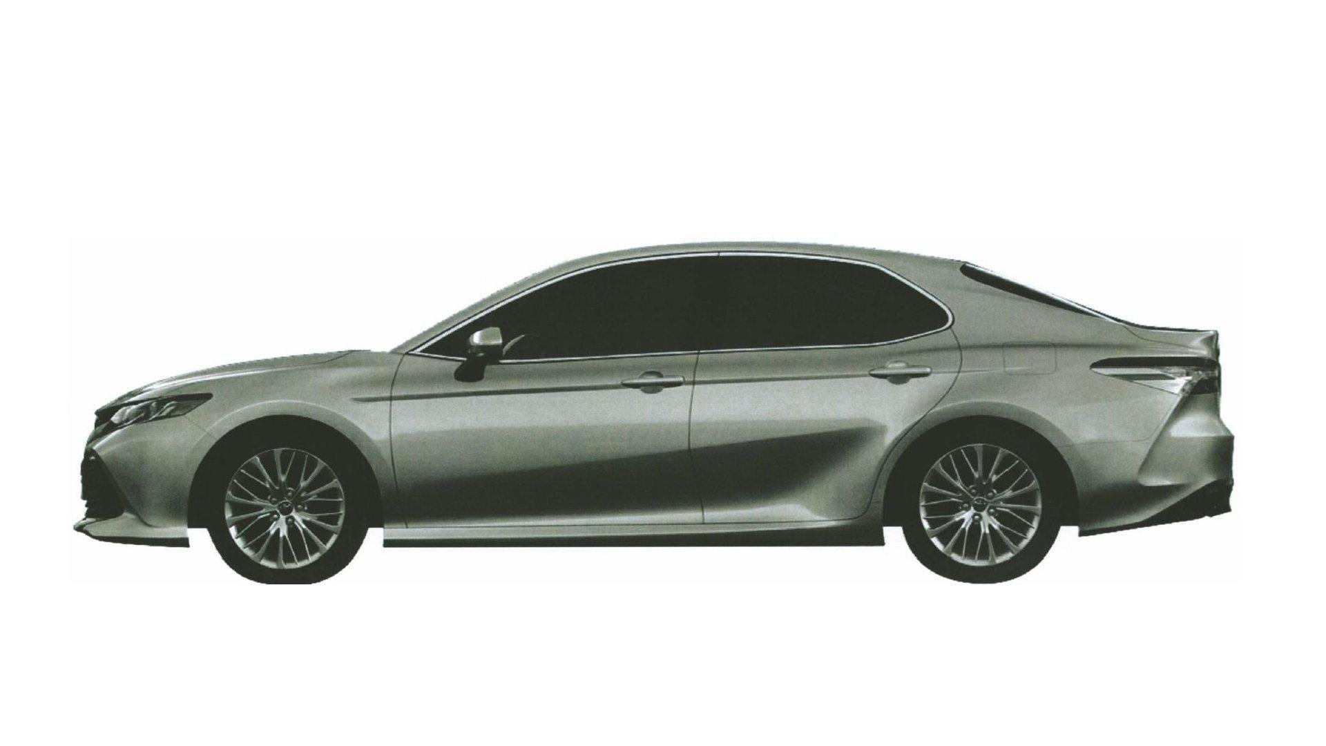 Раскрыт дизайн новой Toyota Camry для российского рынка