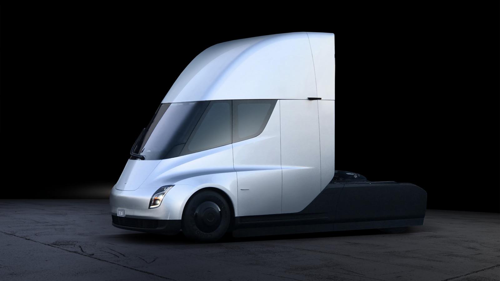 Запас хода Tesla Semi составит до 800 км
