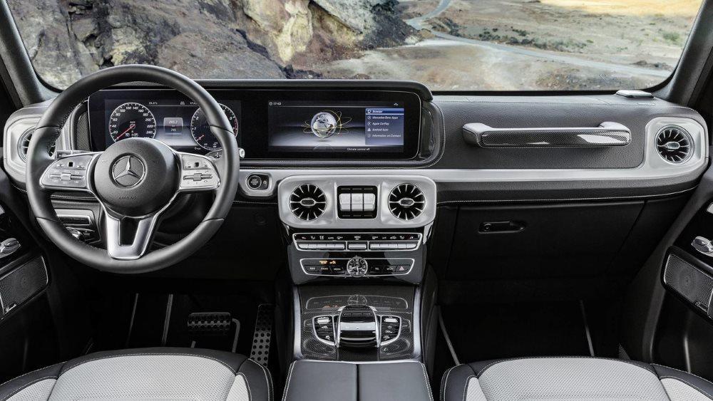 Фото нового Mercedes-Benz G-Class утекли в Сеть