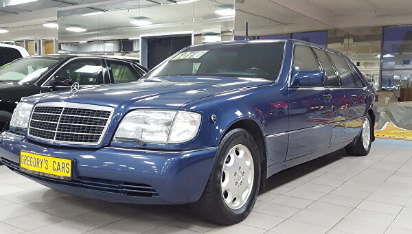 Mercedes-Benz Бориса Ельцина продают за 68,5 млн рублей