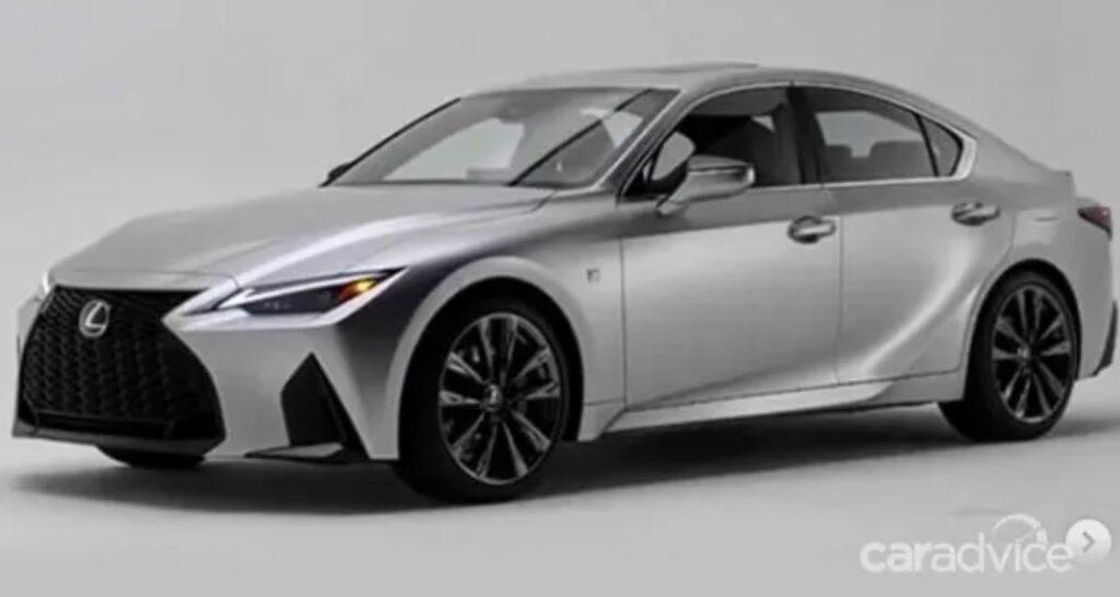 В Сети рассекретили дизайн нового Lexus IS до официальной премьеры