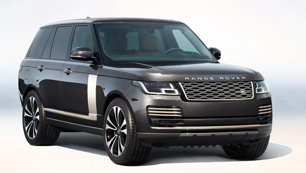 Range Rover выпустил юбилейный Range Rover Fifty в честь 50-летия компании