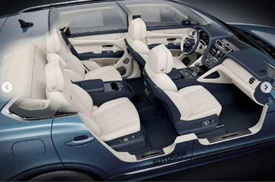 В Сети появились фотографии нового Bentley Bentayga 2020