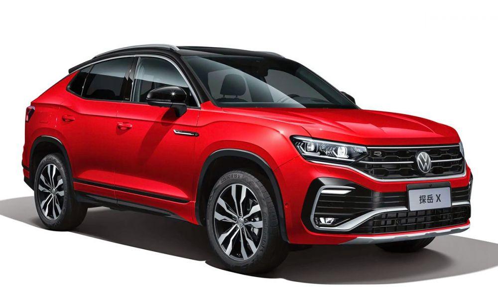 В Китае начались продажи купе-кроссовера Volkswagen Tayron X