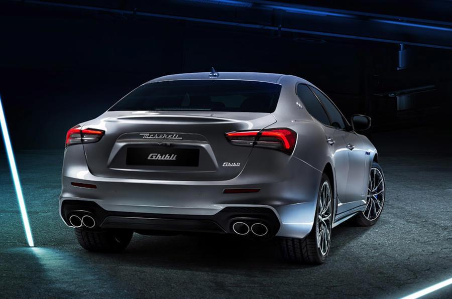 Maserati выпустила первый в своей истории гибридный автомобиль Ghibli Hybrid