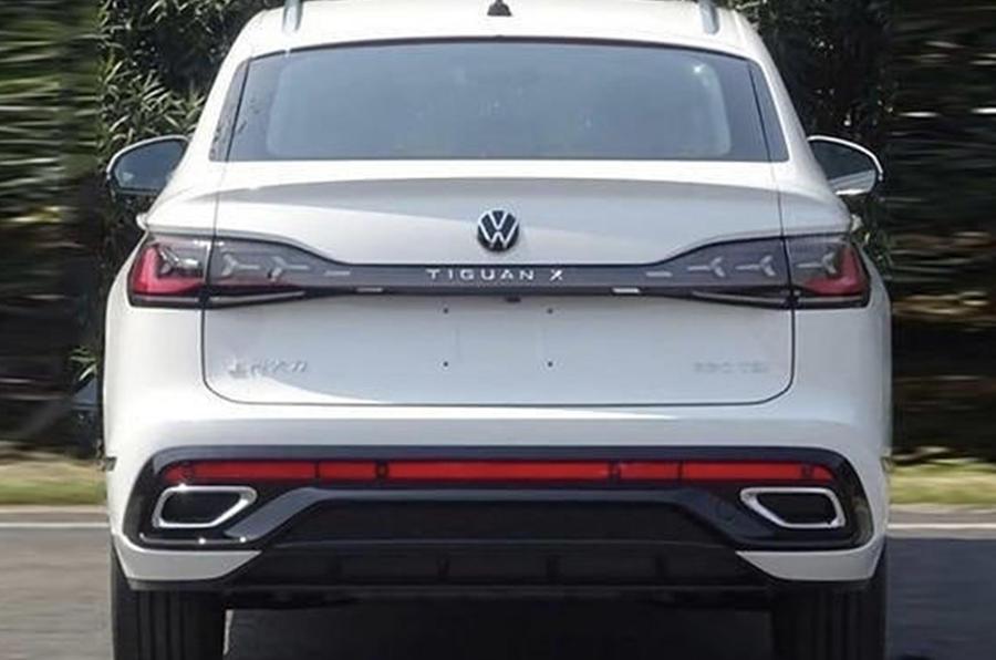 В Сети появились изображения нового купе-внедорожника Volkswagen Tiguan X