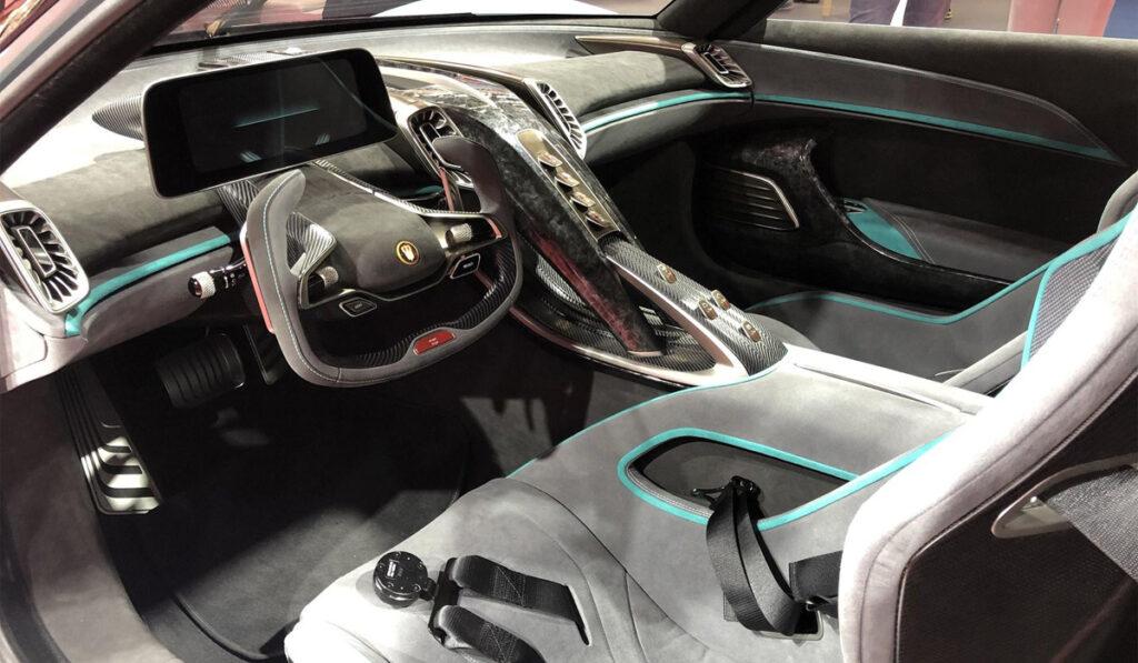 Стоимость гиперкара Hongqi S9 составит 100 млн рублей