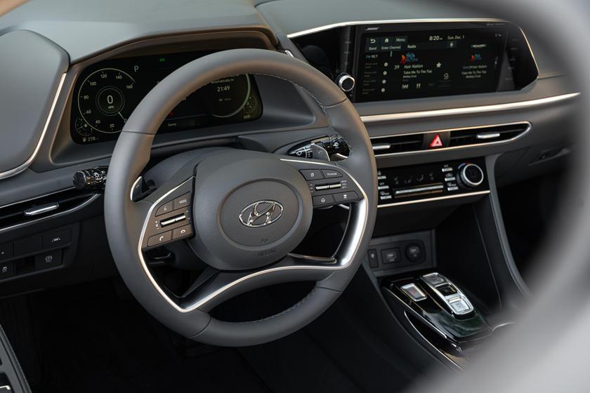 Опубликованы снимки новой Hyundai Sonata 2021 модельного года