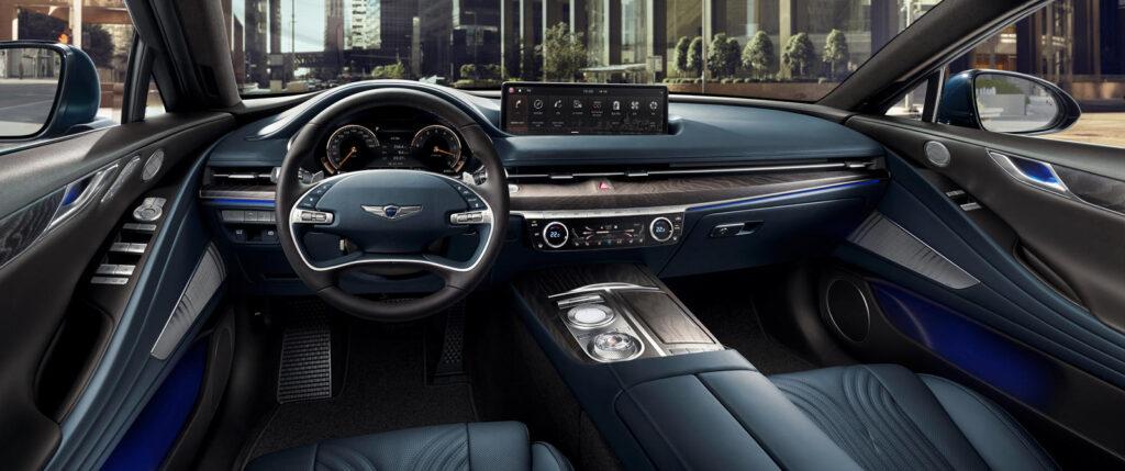 Genesis готовит новый роскошный электрический седан на базе Genesis G80