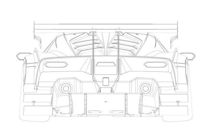 Lamborghini показала тизеры нового суперкара Squadra Corse V12